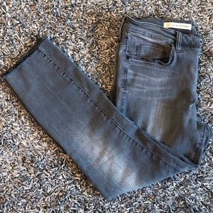 PILCRO AND THE LETTERPRESS HIGH RISE CROPPED JEAN